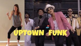 Bruno Mars & Mark Ronson 'uptown Funk' Dance Tutorial  Andreakswilson