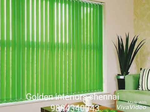 Vertical blinds types and shades