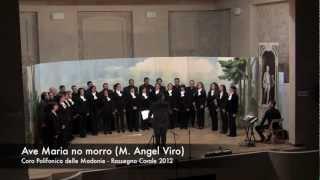 Ave maria no morro - Brano #12 - Coro Polifonico delle Madonie - Rassegna Corale 2012