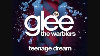 OFFICIAL: Glee - Teenage Dream - The Warblers Karaoke Version