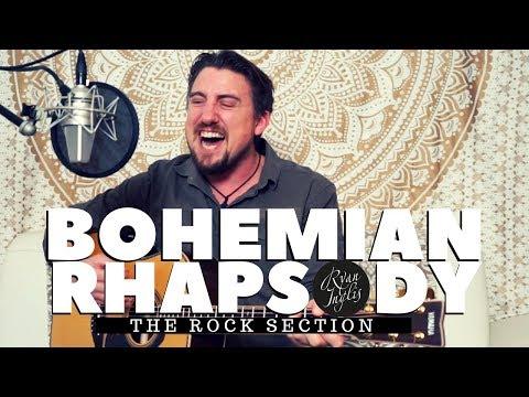 Bohemian Rhapsody - The Rock Section - Acoustic Guitar Lesson