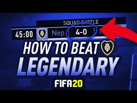 HOW TO BEAT THE AI ON LEGENDARY [EASY!] - #FIFA20 Ultimate Team