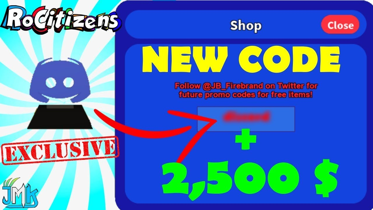 Roblox Rocitizens New Exclusive Code 2019 Secret Discord Trophy