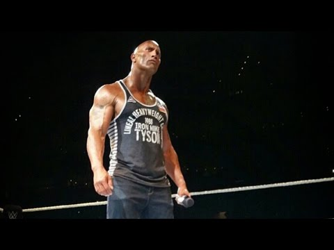 The Rock Makes a Surprise Appearance in Boston!