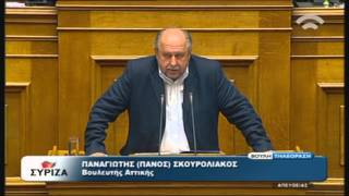 Προγραμματικές Δηλώσεις: Ομιλία Π.Σκουρολιάκος (ΣΥΡΙΖΑ) (06/10/2015)