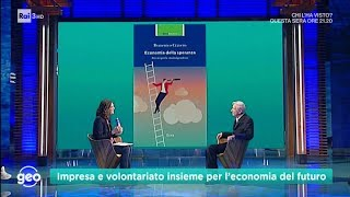Domenico Cravero ospite a Geo, 9 ottobre 2019