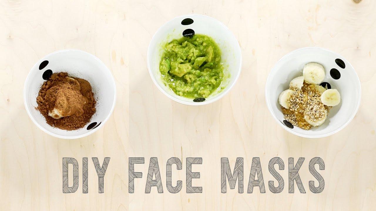 3 Easy Diy Face Masks For All Skin Types