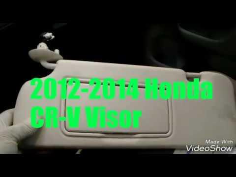2012-2014 Honda CR-V Visor replacement - YouTube 59b93fee4ed