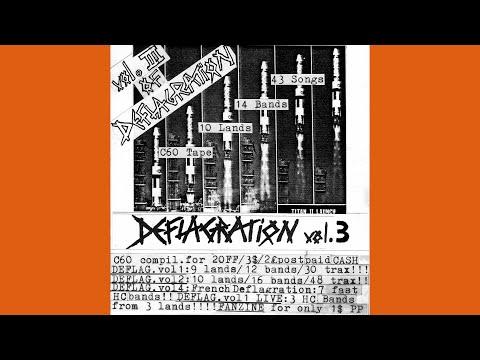 Va - Deflagration Tape Vol.3 Remastered - International 85 Hc Sampler