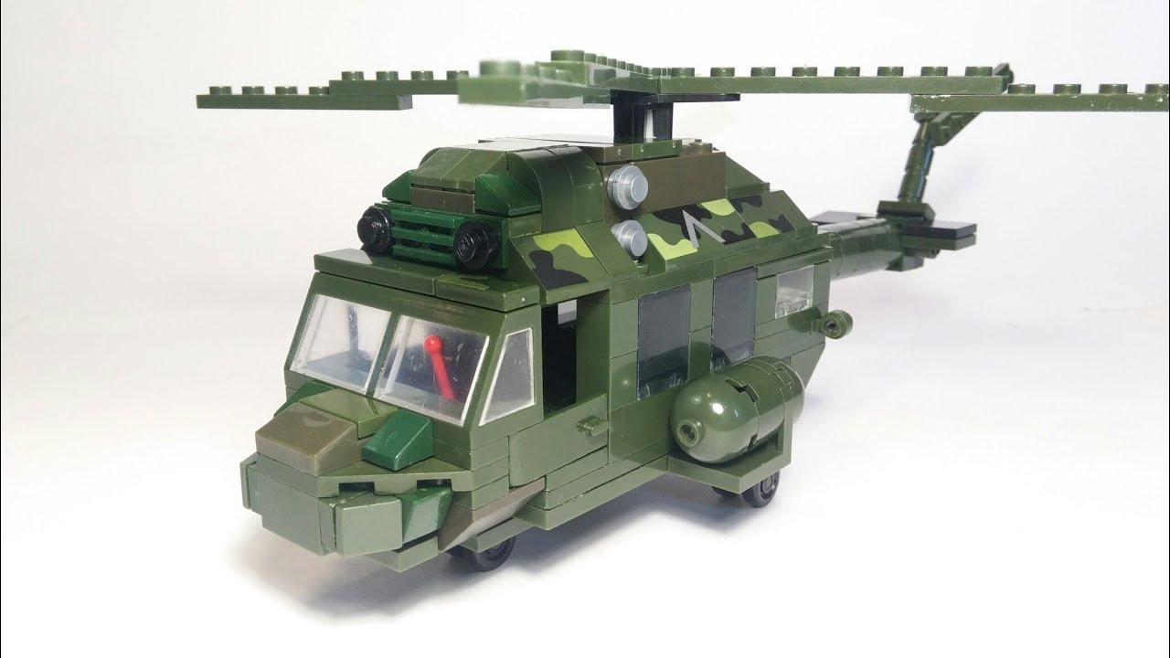 Ми-2 из Лего. Lego MI-2 helicopter