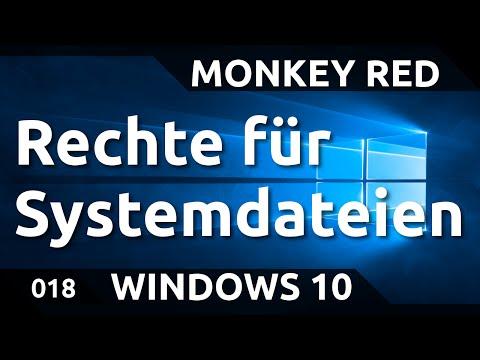 Windows 10: Rechte zum Bearbeiten von Systemdateien erlangen