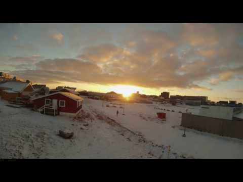 Nuuk Greenland Time lapse.