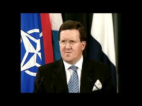 Lord Robertson reflects on NATO's response to 9/11