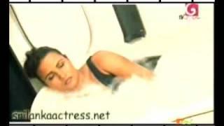 Sri Lanka Actress  Bikini Model Miss world  Rozan Dias Oile Massage and Bathing   part-3  