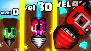 IS THIS THE HIGHEST LEVEL STRONGER DRILL MINE EVOLUTION? (999+ LEVEL UPGRADE) l Reach the Core New
