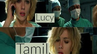 Doctor Removing Cph4 from Lucy in lucy movie - Tamil - HD
