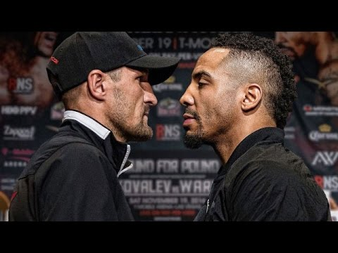 """(IT'S ON!!!) WARD VS. KOVALEV II SET FOR JUNE 17; WARD TELLS KOVALEV: """"LEAVE THE EXCUSES AT HOME"""""""