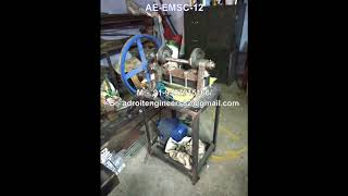 Economy Motorised Fabric Swatch Cutting Machine