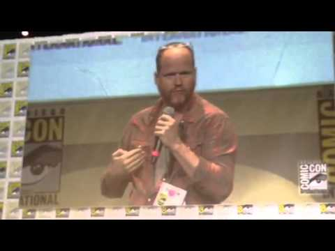 Joss Whedon On The Power Of Story At Comic Con #SDCC - Zennie62