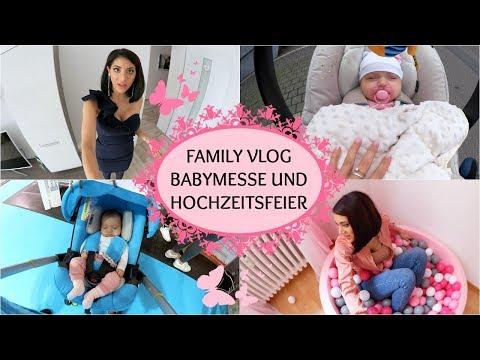 FAMILY VLOG I Babymesse und Hochzeitsfeier I Sevins Wonderland