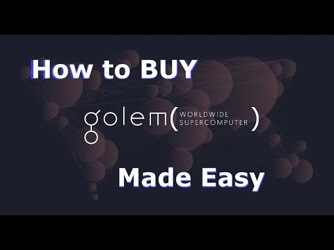 How to buy Golem - The easiest way to BUY GOLEM!
