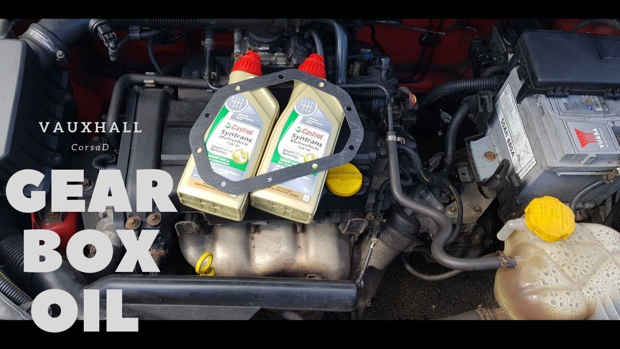 Corsa D Gearbox Oil Change Youtube
