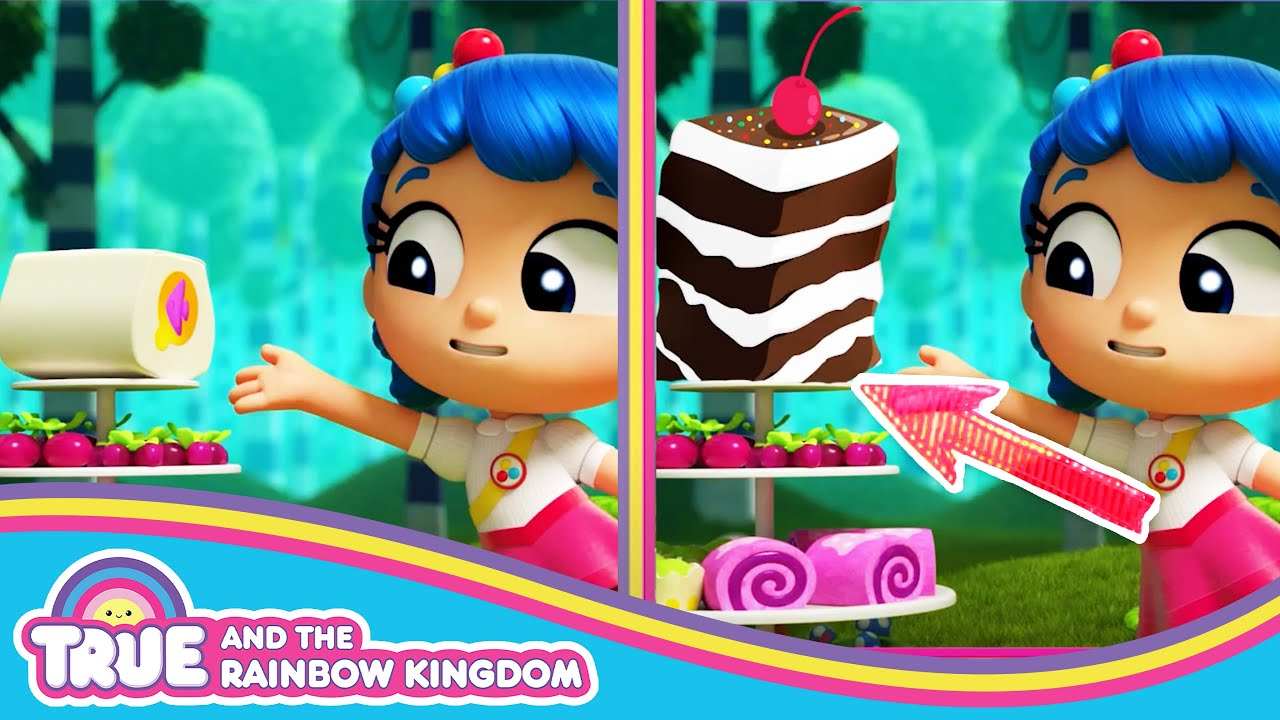 Spot the Difference with True 🌈 True and the Rainbow Kingdom 🌈