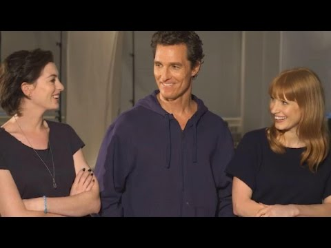 'Interstellar' Stars Matthew McConaughey, Anne Hathaway & Jessica Chastain Flunk Space Quiz