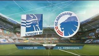 Highlights: Lyngby Boldklub-FC København (01-10-2017)