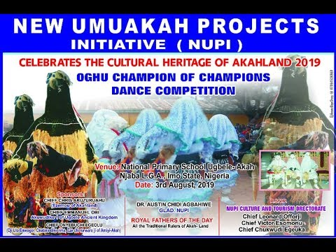 NEW UMUAKAH PROJECTS INITIATIVE NUPI OGHU  DANCE COMPETITION