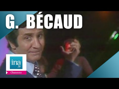 """Gilbert Bécaud """"So far away from Courbevoie"""" (live officiel) 