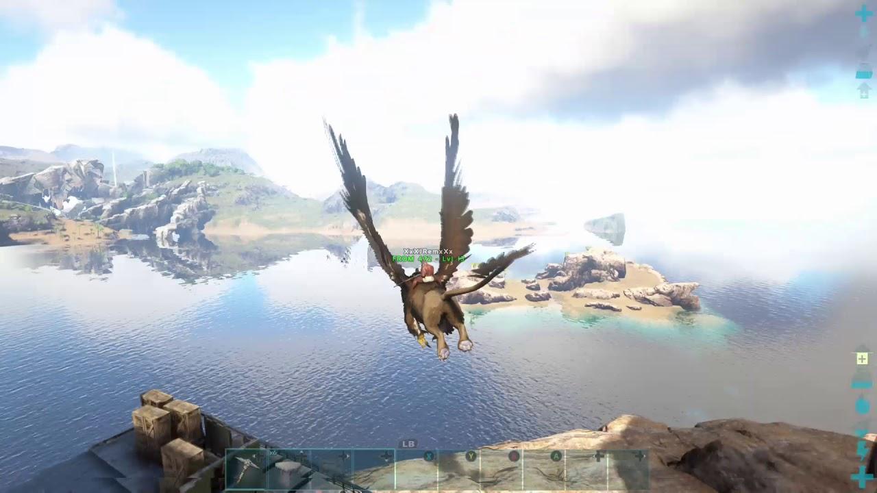 Ark Survival Evolved raiding PVE base Ragnorok