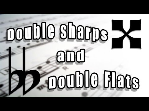 What are Double Sharps and Double Flats? Music Theory Lessons