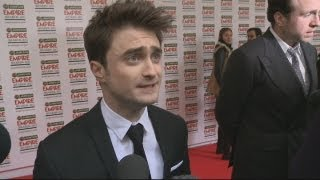 Daniel Radcliffe talks Frankenstein and horror at the Empire Awards