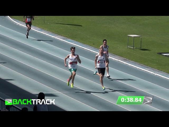 Ivan Geldenhuys 400m u20 AGN Champion 46.29!