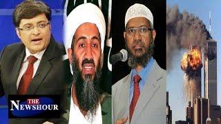Zakir Naik Has No Idea About Osama Bin Laden?: The Newshour Debate (15th July 2016)