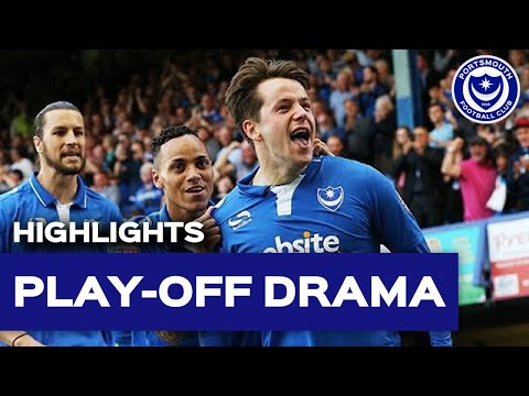 Highlights: Portsmouth 2-2 Plymouth Argyle