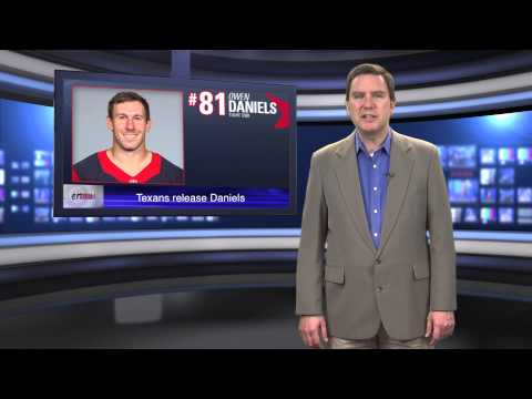 Texans release TE Owen Daniels