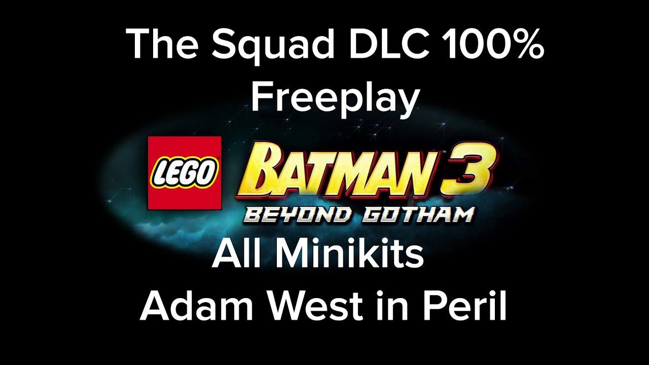 Lego Batman 3 Beyond Gotham The Squad DLC 100%