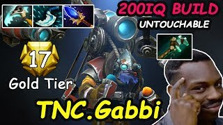 TNC Gabbi - [Tinker] MIDLANE  GOLD TIER 200 IQ BUILD Untouchable |  Dota2 7.20 Rank