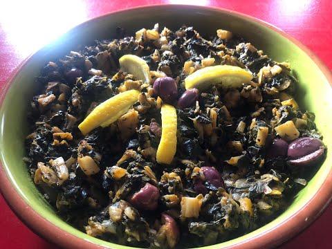 recette-épinards-frais-(وصفة-السبانخ-الطازجة)