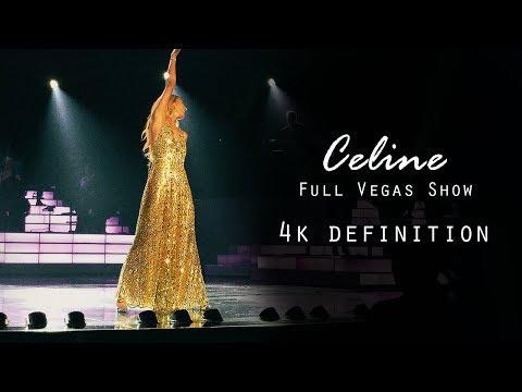Celine Dion live   4K Vegas show (03.06.2019)
