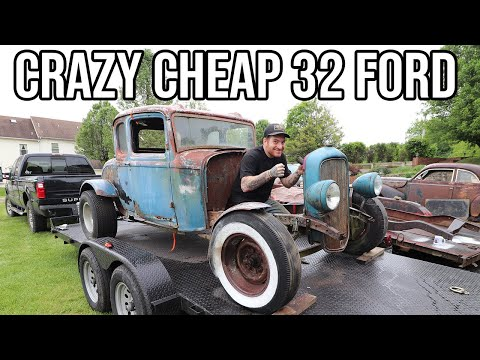 Crazy 1932 Ford Hot Rod Found On Facebook For Cheap!!!!