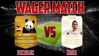 WAGER MATCH | Kefir VS PandaFX | Goalkeeper Match