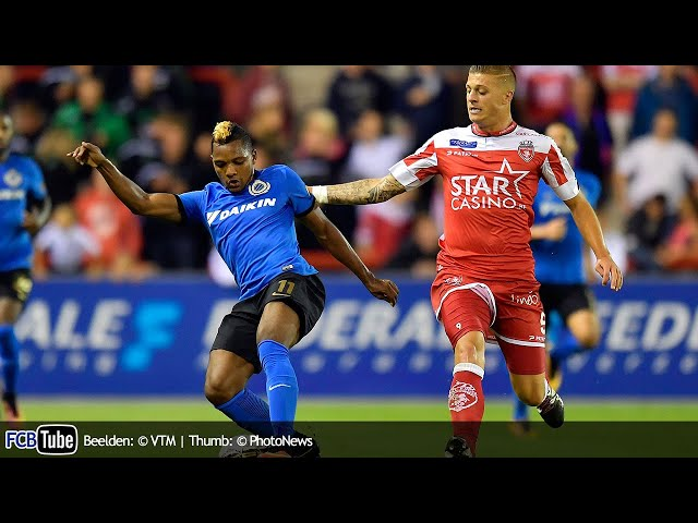 2016-2017 - Jupiler Pro League - 08. Royal Excel Mouscron - Club Brugge 0-3