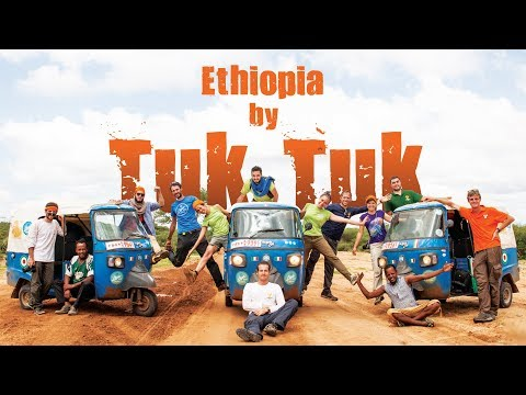 Etiopia in Tuk Tuk - documentario avventura travel camping ethiopian adventure documentary 2017 bbc