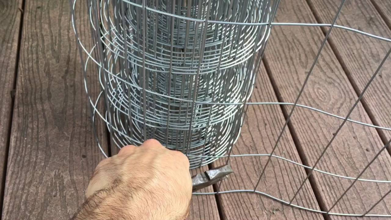 How to Make Tomato and Vegetable Cages for Organic 5 Gallon Bucket ...
