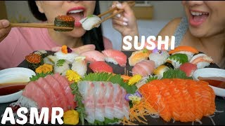 Hi FamJam! Our last sushi video here in Japan!! This was delicious,...