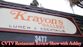 CVTV Restaurant Review with Ashley: Krayons Gallery