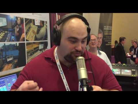 WLNG go live from Radio Show 2016 with Tieline WheatNet-IP Codec